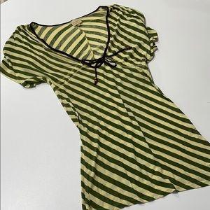 Striped Dress (Size M)